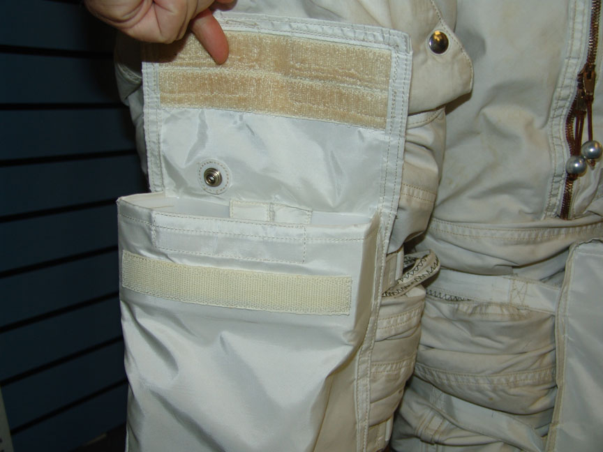 Strap-on Shin Pocket